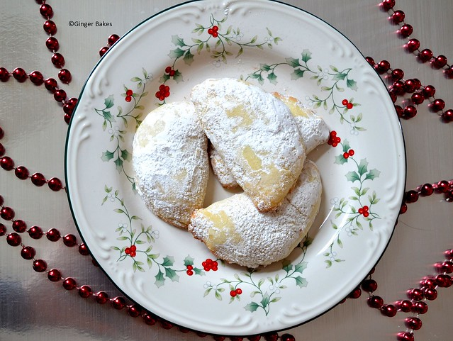 nutella half moon cookies