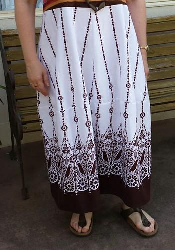 Tessuti Eva Dress skirt detail