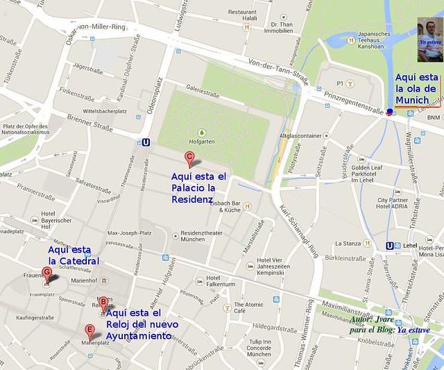 Localización Ola de Munich