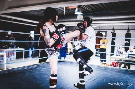 Kickboxingstevne på Traning Room - Februar 2014. Foto: Bjørn Christiansen - www.bj0rn.net