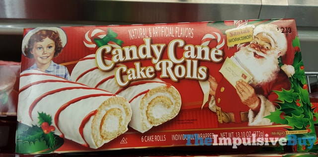Little Debbie Candy Cane Cake Rolls