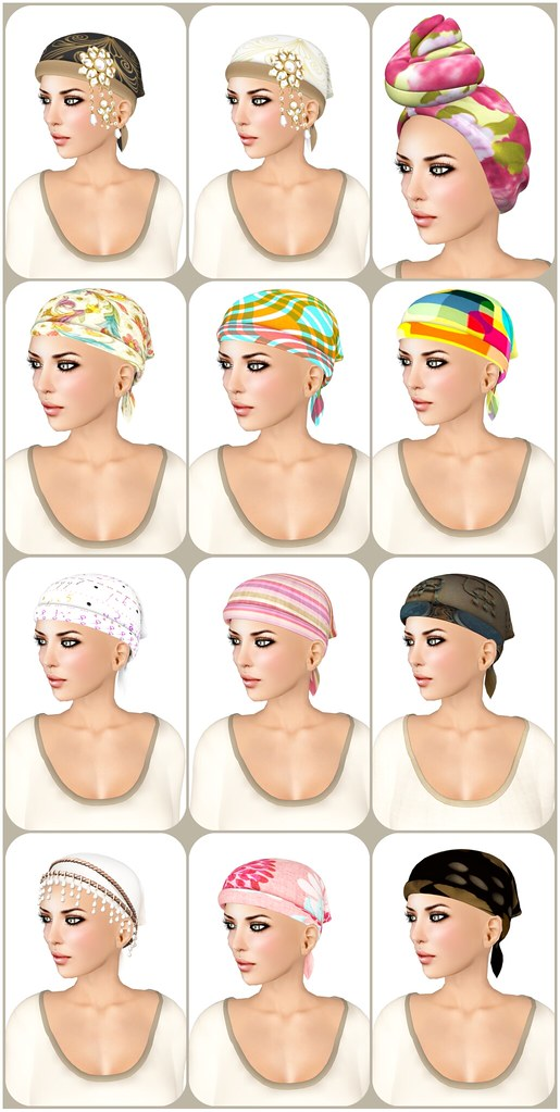 Hair Fair 2013 - Bandana Day composite