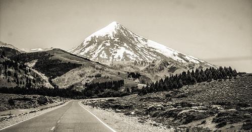 Volcan Lanín, Junín de los Andes, Neuquén, Argentina.