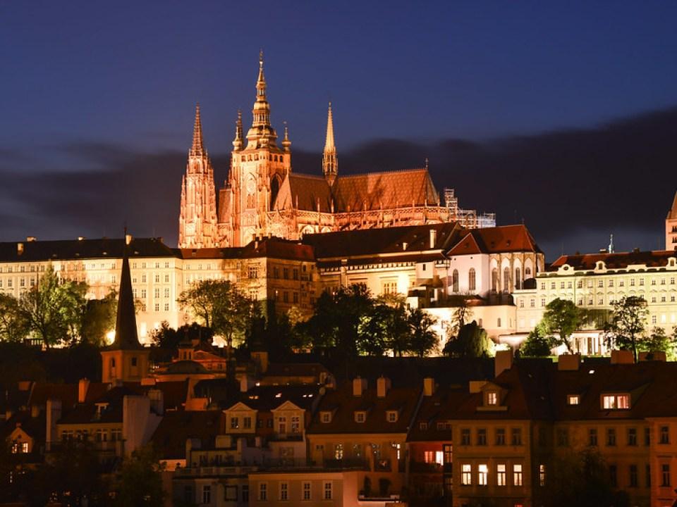 聖維特大教堂&布拉格城堡