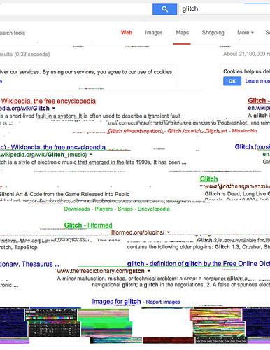 Google Glitch