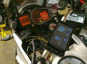 Installing BMW Navigator V GPS on KTM 1190 | Adventure Rider