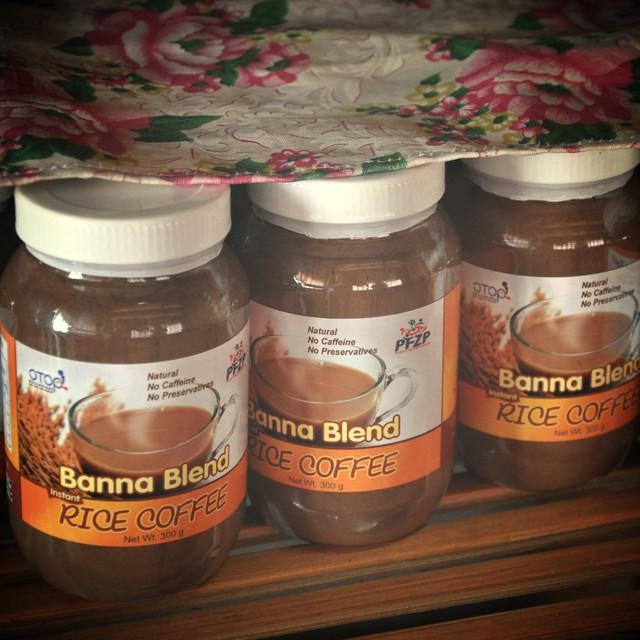 Banna Blend Rice Coffee