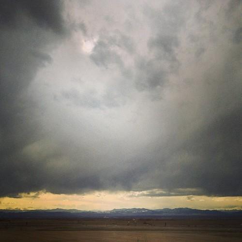 Snow coming again to #denver by @MySoDotCom