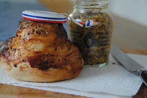 honey and mustard bread