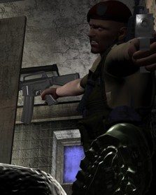 【Daz3D】Veteran War Dog for M4を着せてみる。2