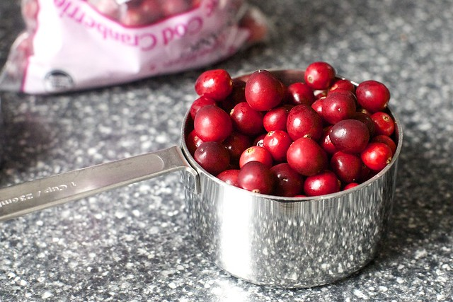 i love fresh cranberries