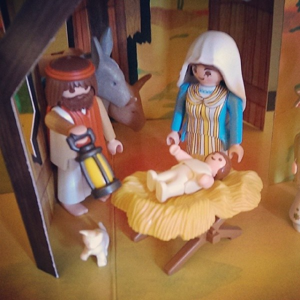 Playmobil Jesus #thereason4theseason