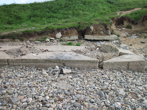 WW2 Anti-Tank Remains, Millclose Howle, Redcar