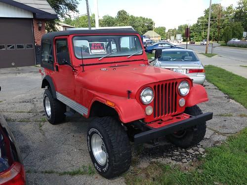1979 AMC Jeep CJ7 c