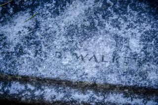 R. D. Walker Signature