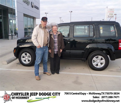 Happy Anniversary to Carlos Morse on your 2012 #Jeep #Liberty from Joe Ferguson  and everyone at Dodge City of McKinney! #Anniversary by Dodge City McKinney Texas