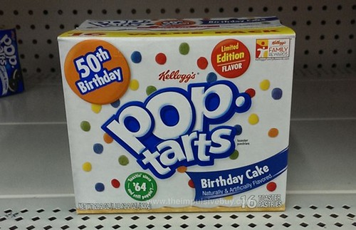 Kelloggs Limited Edition Birthday Cake Pop Tarts