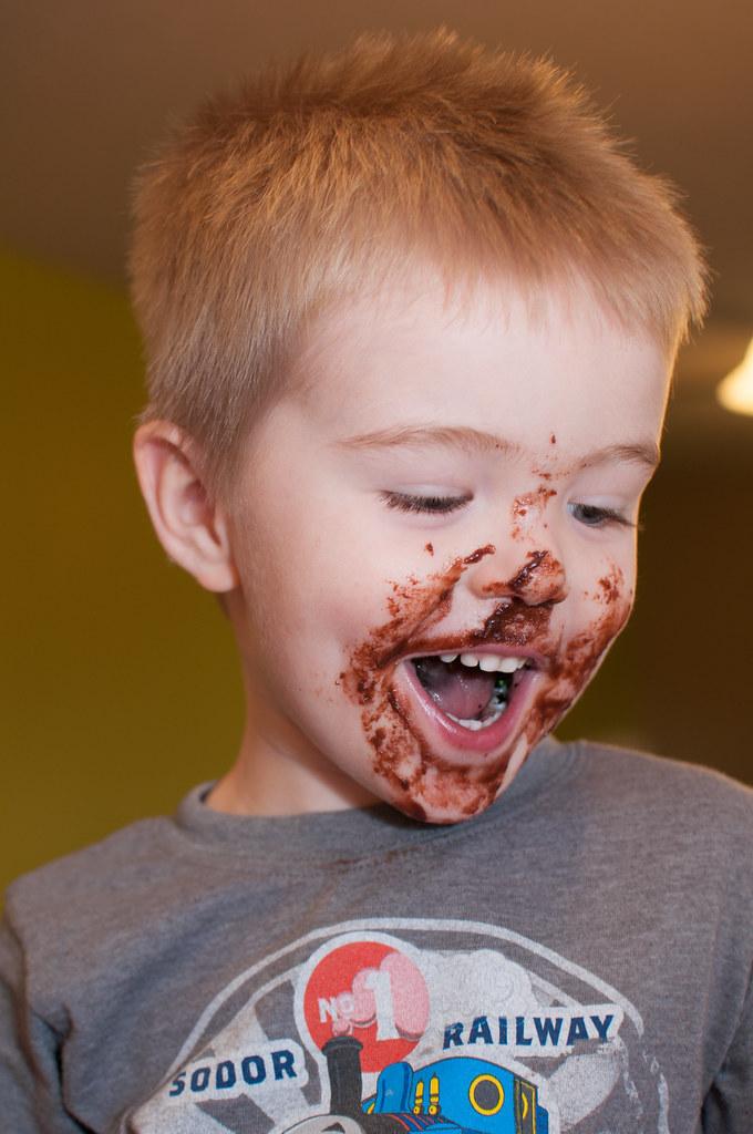 Halloween Triple Chocolate Pudding Cookies