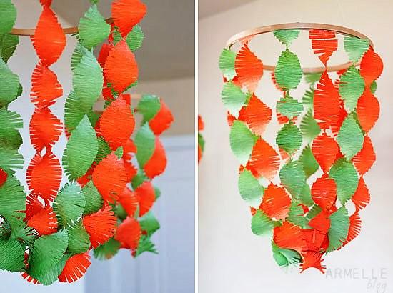 DIY chandeliers
