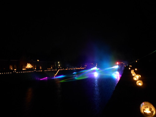 Lightshow on the canal