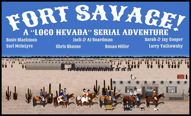 Fort Savage Banner