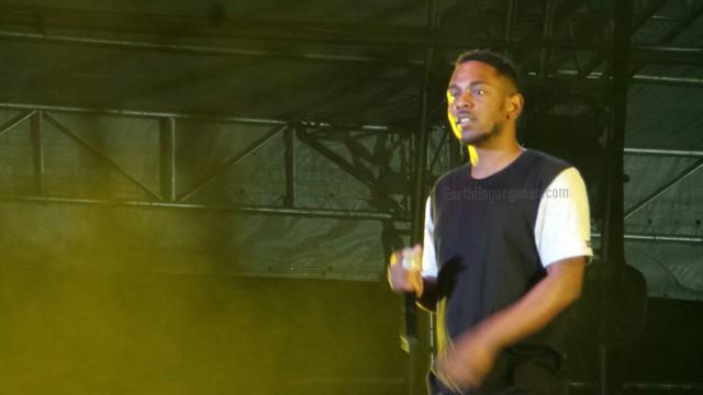 Kendrick Lamar at 7107 international music festival