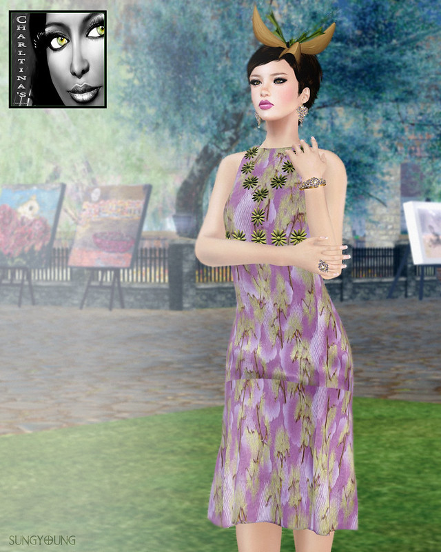 Charltina's Oriental Dream Love Dress
