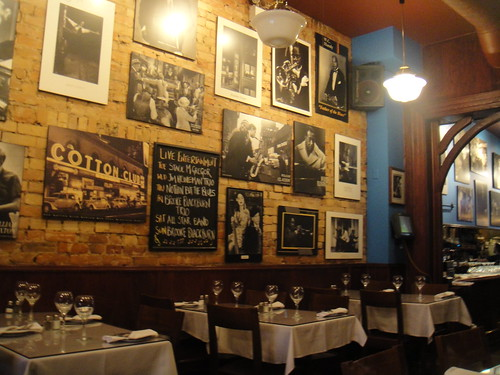 inside of N'Awlins Jazz Bar and Restaurant