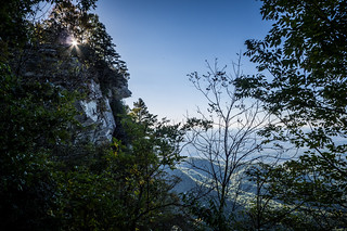 Sunrise over Caeser's Head