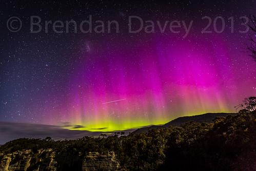 Aurora Australis Devils Kitchen by Brendan Davey