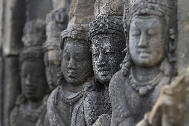 Borobudur Relief Detail