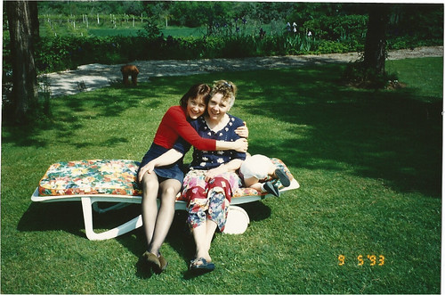 Iris & Me - Mothers day 1993