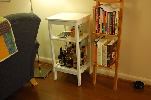 Kitchen Cure: Liquor Shelf