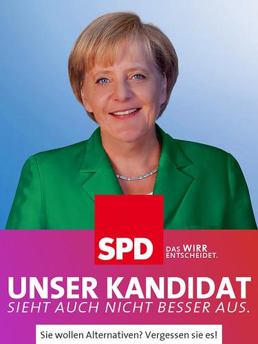 SPD-Wahlplakat: Unser Kandidat by Elias Schwerdtfeger