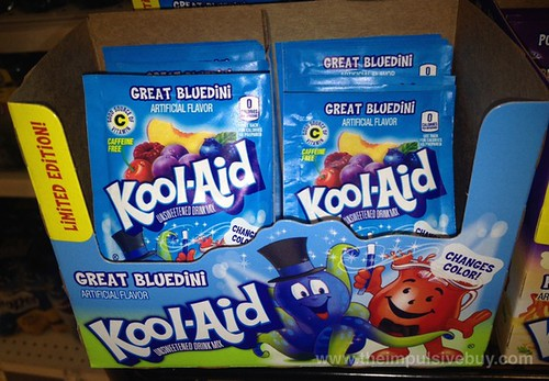 Limited Edition Great Bluedini Kool-Aid Drink Mix
