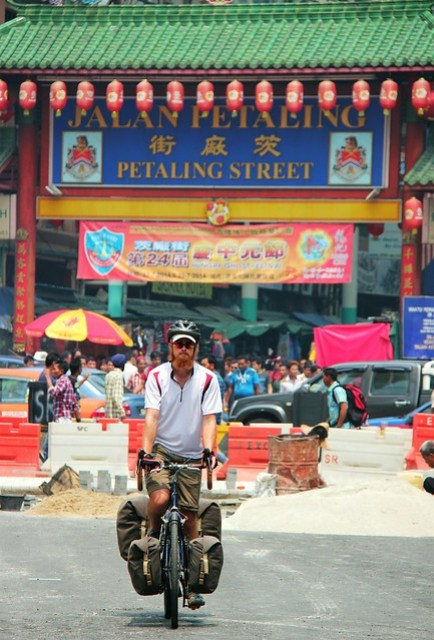 Cycling in central KL