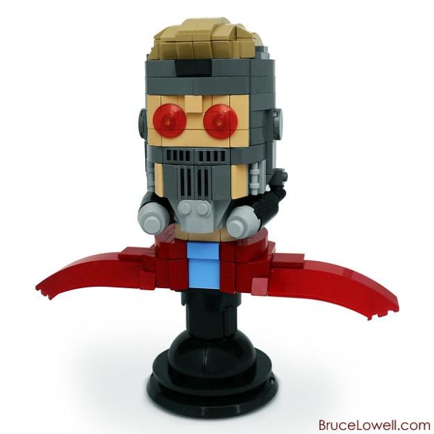 LEGO Star-Lord Bust