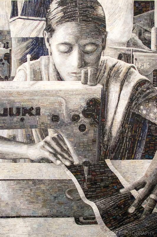 Portrait Textile Worker Terese Agnew