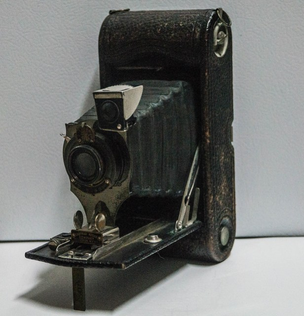 No. 1A Folding Pocket Kodak, R.R. Lens Type