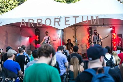 Steve Adamyk Band @ Arboretum Festival