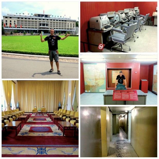 Palacio Reunificacion Ho Chi Minh Saigon