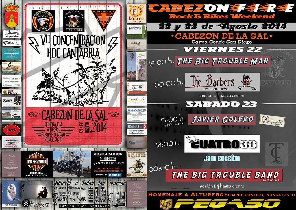 VII Concentración HDC Cantabria - Cabezón de la Sal