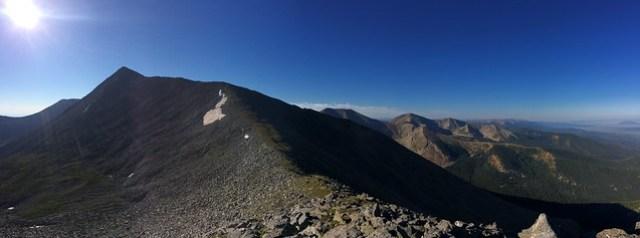 Picture from Culebra Peak, Colorado