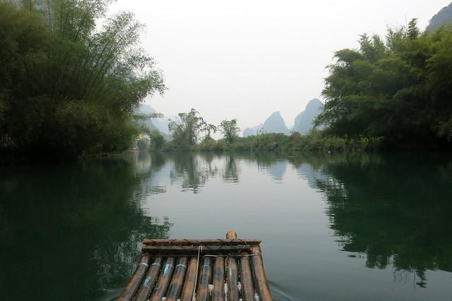 Bamboo Rafting 1