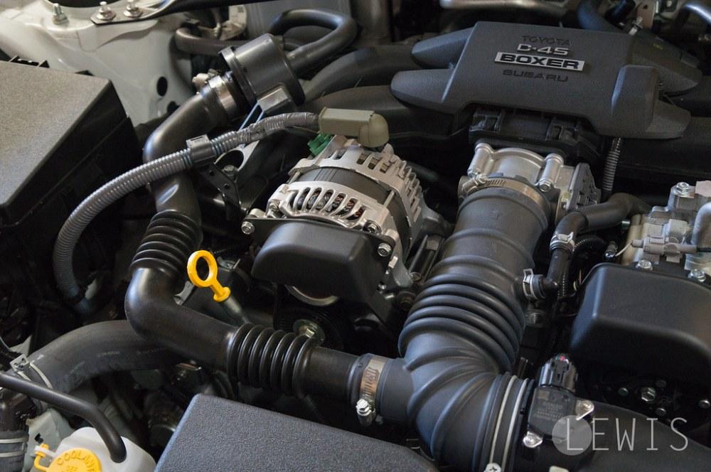 Subaru BRZ stock engine intake tubes