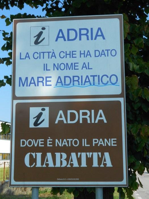Adira, adriatico e ciabatta