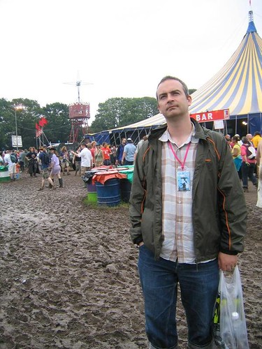 James at Glastonbury