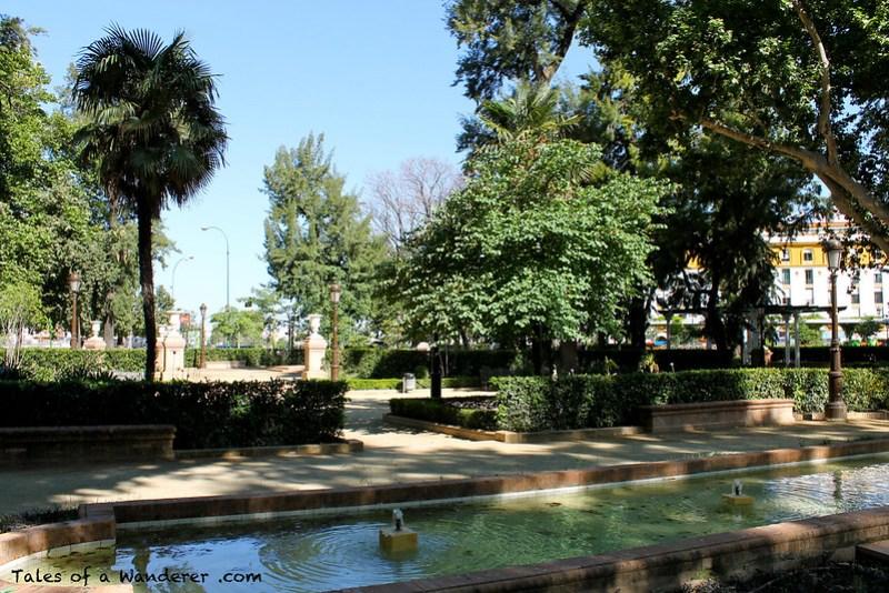 SEVILLA - Jardines de Cristina