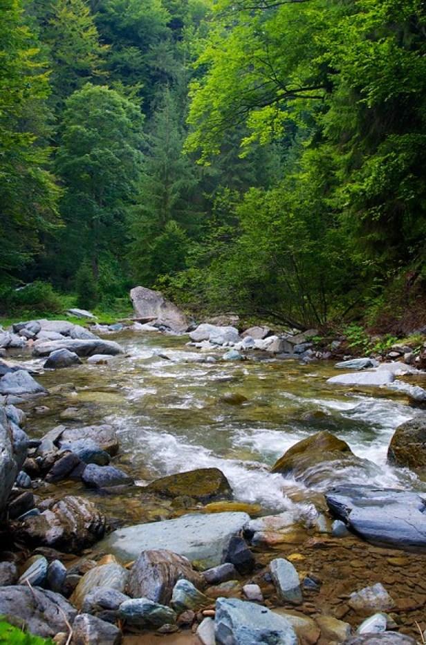 Румыния, горные реки