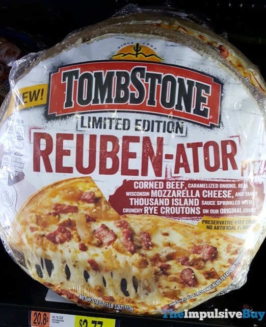 Tombstone Limited Edition Reuben-ator Pizza